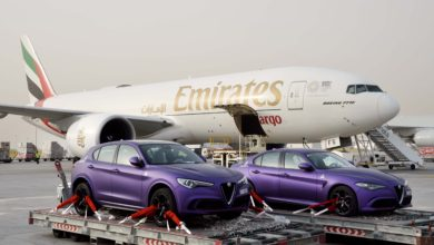 Photo of Emirates SkyCargo partners with Gargash to transport Alfa Romeos for celebrity motor rally