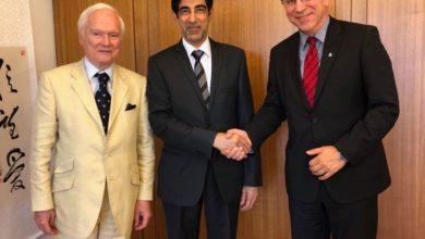 Photo of حنيف القاسم :بحث تعزيز الشراكة مع الهيئات العالمية