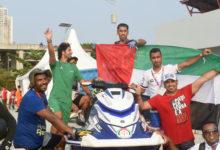 "Photo of اللنجاوي يهدي الدولة ذهبية الدراجات المائية في ""الأسياد """