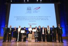 Photo of راشد بن حمدان يوزع الجوائز على الفائزين بمشاركة أودري أوليه