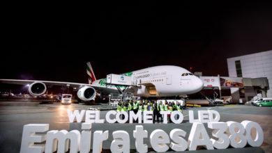 Photo of طائرة الإمارات A380 إلى سان بطرسبرغ لأربعة أيام