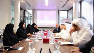 Photo of وفد لجنة حقوق الإنسان العربية يزور مؤسسة دبي لرعاية النساء والأطفال