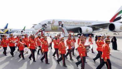 Photo of 11 ألف زائر لطائرة الإمارات الإيرباص A380 في معرض البحرين للطيران