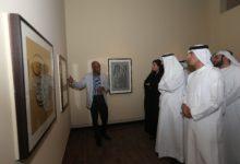 Photo of افتتاح معرض جديد للخطاط المشهور تاج السر حسن في متحف الشارقة للخط
