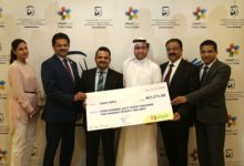 Photo of Lulu Group International hands over AED 467,271 cheque donation to Dubai Cares in support of Water, Sanitation and Hygiene in Schools programs