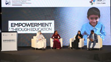 "Photo of Speakers share inspirational stories on the transformative power of education during Dubai Cares' ""Empowerment through Education"" event"