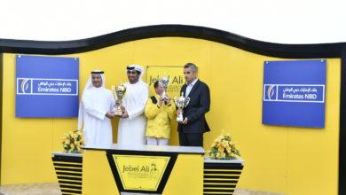 Photo of تحت رعايه الشيخ احمد بن راشد ال مكتوم السباق الثانى للخيول بمضمار جبل اليوم
