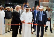 "Photo of افتتاح المعرض الفني المشترك ""ذكريات الهجرة"" في مؤسسة سلطان بن علي العويس الثقافية"