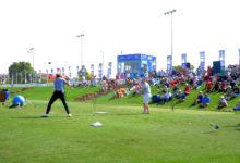 Photo of Golf Trick Shot Boys up to their old tricks at  DP World Tour Championship, Dubai