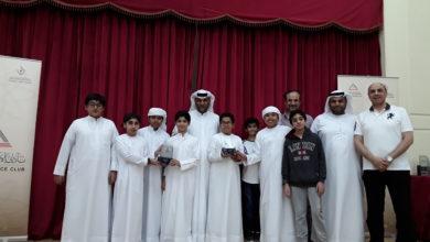 Photo of المركز الأول لنادي الإمارات العلمي  في بطولة الروبوتات التعليمية