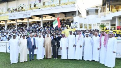 Photo of السباق الرابع للخيول العربية والمهجنه الاصيلة على مضمار جبل على