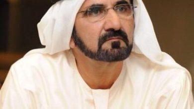 Photo of الشيخ محمد بن راشد آل مكتوم يشكر فريق مطار دبي