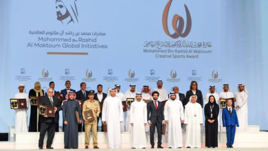 Photo of حمدان بن محمد يكرم الفائزين بالدورة العاشرة من جائزة محمد بن راشد آل مكتوم للإبداع الرياضي