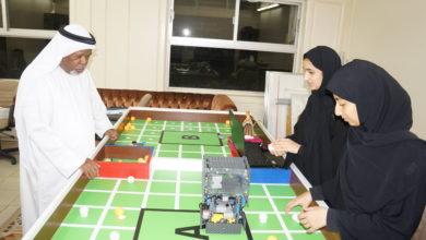 Photo of نادي الإمارات العلمي يشارك في البطولة العربية للروبوت