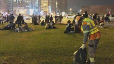 Photo of بلدية دبي تحافظ على إبقاء المدينة نظيفة ومتميزة بعد احتفالات مليوني شخص بالعام الجديد