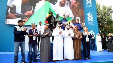 Photo of الشيخ منصور بن محمد بن راشد آل مكتوم يكرم الفائزين فى ماراثون دبي الدولى ستاندرد تشارتر فى النسخة العشرين