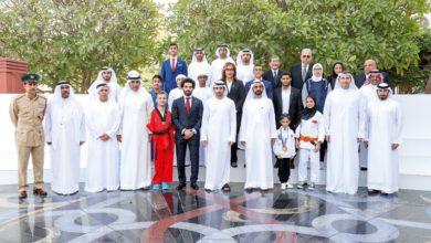 Photo of نائب رئيس الدولة يستقبل الفائزين بجائزة محمد بن راشد آل مكتوم للإبداع الرياضي