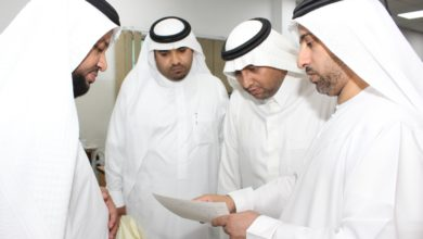 Photo of مركز جمعة الماجد يستقبل وفداً من معهد المخطوطات وإحياء التّراث الإسلاميّ
