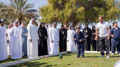 "Photo of ""حديقة الجميع"" حديقة صقر برأس الخيمة صديقة للأطفال من أصحاب الهمم"