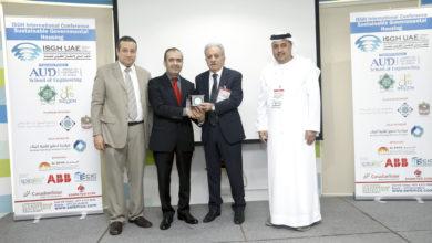 Photo of اتحاد المهندسين العرب يكرم سفير دبي لمؤتمر الاسكان الحكومي