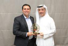 Photo of سعيد عبدالغفار يستقبل أمين عام اللجنة الأولمبية الأردنية