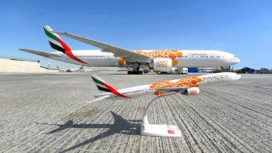 Photo of طيران الإمارات تطرح نماذج طائرات تحمل شعار إكسبو 2020 عبر متاجرها الرسمية في دبي