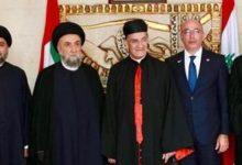 "Photo of لقاء ""الأخوة الانسانية""في دارة سفير لبنان فؤاد شهاب دندن في أبوظبي"