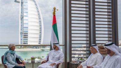 Photo of محمد بن زايد يستقبل عددا من القادة والمسؤولين المشاركين في القمة العالمية للحكومات بدبي