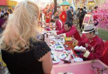 Photo of إحتفالات مبهرة برأس السنة الصينية في القرية العالمية
