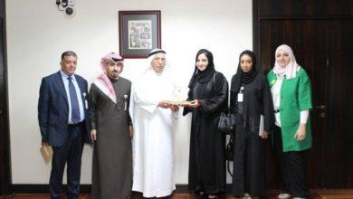 Photo of اللجنة الوطنية للتربية والثقافة والعلوم تكرم جمعة الماجد