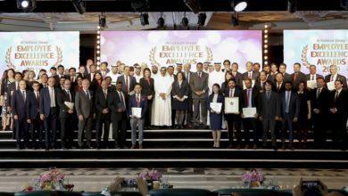 Photo of خلف الحبتور يكرّم الموظفين الأفضل أداء في الحفل السنوي لتوزيع جوائز الموظفين المتميزين 2019