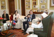 Photo of Khalaf Ahmad Al Habtoor Receives HE Ludovic Pouille, Ambassador of France to the UAE
