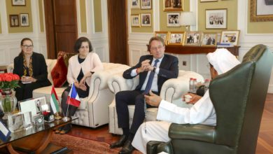 Photo of Khalaf Ahmad Al Habtoor Receives HE Ludovic Pouille, Ambassador of France to the UAE