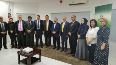 Photo of كليةمينا للادارةتحتفل بيوم الطالب