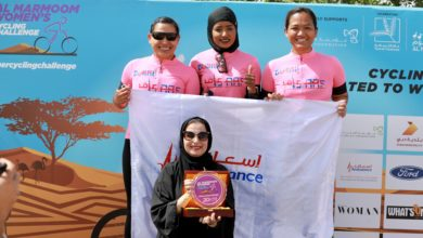 Photo of أكثر من 200 متسابقة في تحدي المرموم للدراجات الهوائية النسائية