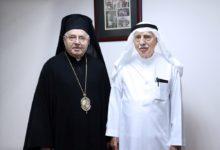 Photo of جمعة الماجد يستقبل رئيس أساقفة حلب للروم الكاثوليك