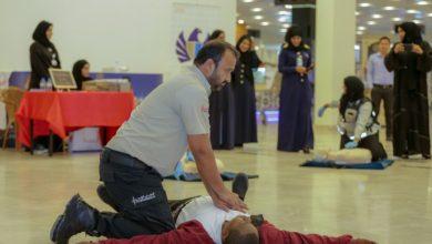 Photo of متطوعو إسعاف دبي ينقذون رجلا تعرض للإغماء