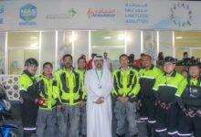 Photo of إسعاف دبي تغطي دورة ند الشبا الرياضية وتؤمن مشاركيها