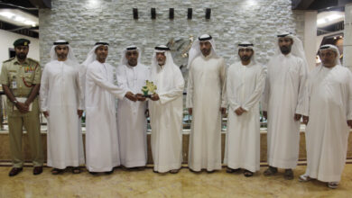 Photo of وفد من شرطة دبي يزور مؤسسة محمد بن راشد آل مكتوم الخيرية