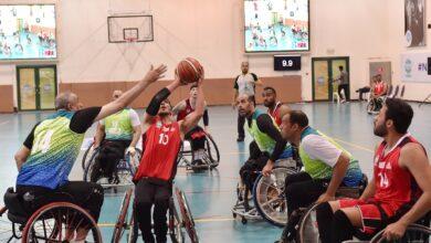 Photo of كأس السلة للكراسي المتحركة بين النيابة والبلدية في دورة ند الشبا الرياضية