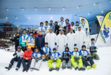 """Photo of تفوق إماراتي في منافسات """"التزلج على الثلج"""""""