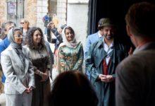 """Photo of معالي نورة الكعبي تفتتح معرض """"عبور"""" في الجناح الوطني لدولة الإمارات خلال الدورة الـ 58 من المعرض الدولي للفنون في بينالي البندقية"""