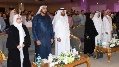 Photo of Mohammed bin Faisal Al Qasimi attend the graduation ceremony of students of Amarifa School