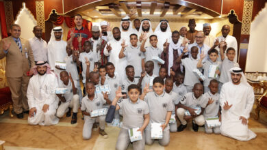 Photo of Alber Society Gains Happiness of 3,196 orphans in Ramadan