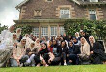 Photo of طالبات البرنامج الصيفي في كلية آل مكتوم يزرن مركز علاج الشرطة الخيري