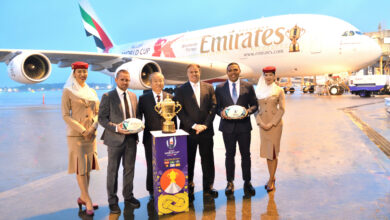 "Photo of طيران الإمارات تنقل ""كأس ويب إيليس"" إلى طوكيو"