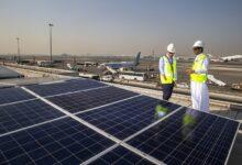 Photo of إتمام تركيب أكبر نظام طاقة شمسية في مطار دبي الدولي