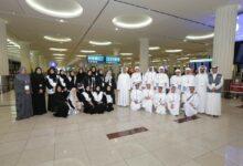 Photo of فريق هويتي في مطارات دبي يستقبل سفراء الابتكار قادة المستقبل في مطار دبي الدولي