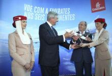 Photo of طيران الامارات تحتفل بتدشين خدمتها الجديدة إلى بورتو