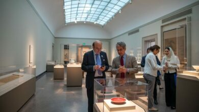 Photo of United Arab Emirates Public and Cultural Diplomacy Minister Discusses Ongoing and Future Partnerships with Smithsonian Institution and Free Sackler Gallery